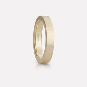 Floyel ring in yellow gold, men`s