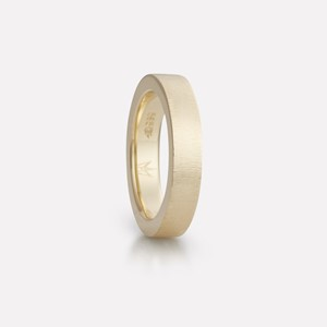 Floyel ring in yellow gold, women`s