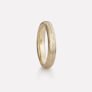 Fossefall  ring in yellow gold, men`s