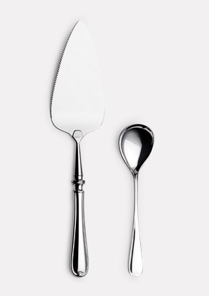 Rosendal pie server & jam spoon